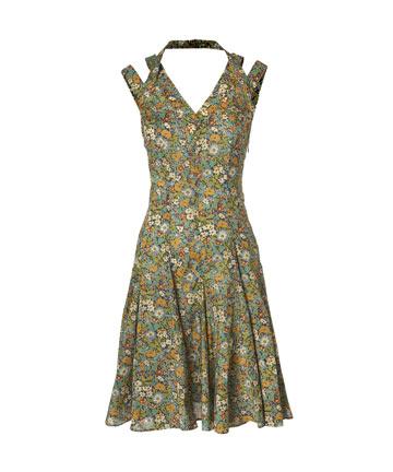 Halterneck Summer Dress, Cacharel.